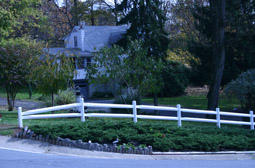 fencing at Leisure World